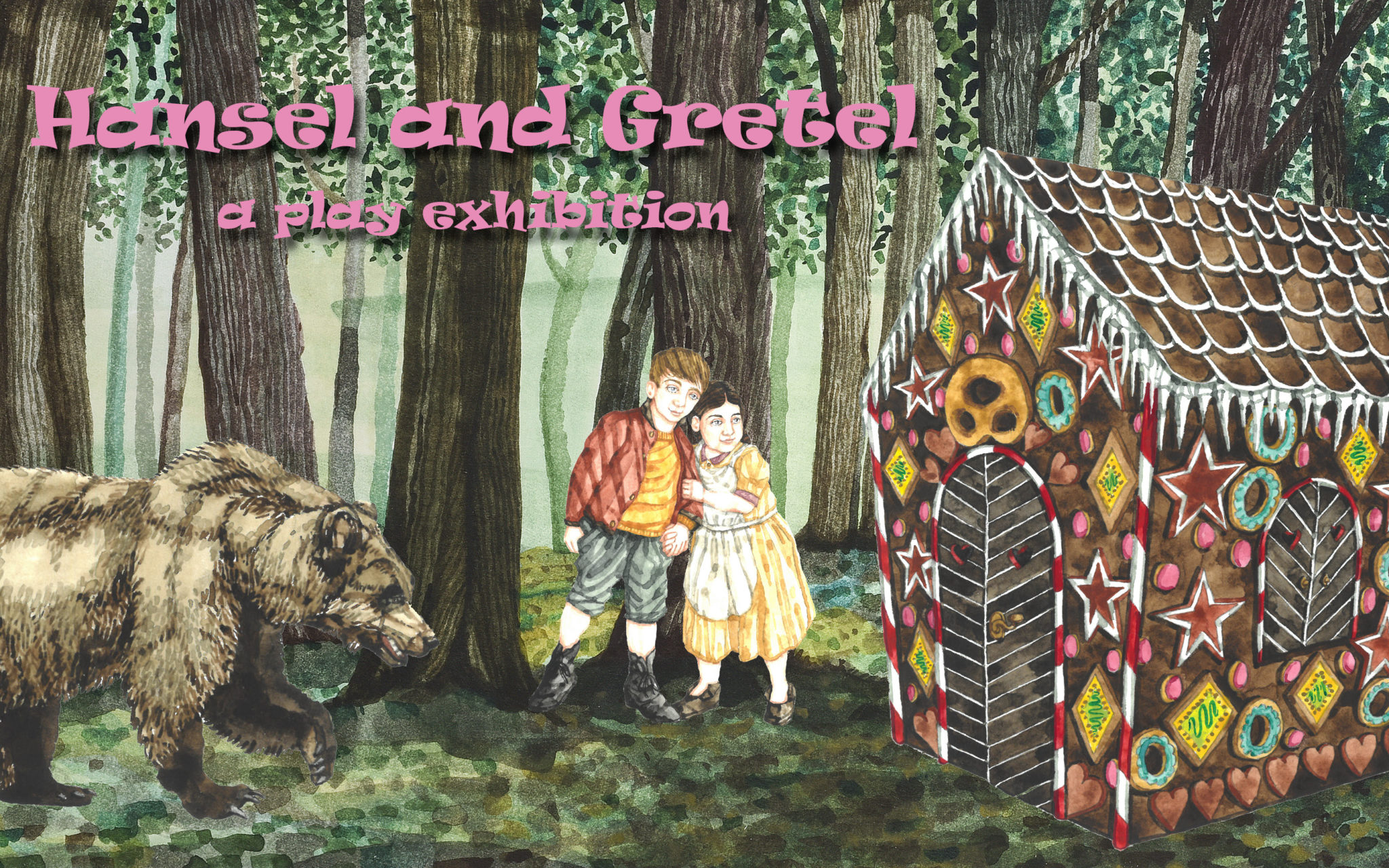 Hansel and Gretel – a play exhibiton